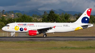 A picture of HK5221 - Airbus A320214 - Viva Air - © Alex Rivera