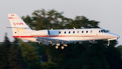 C-FCPR - Cessna 680 Citation Sovereign - Private