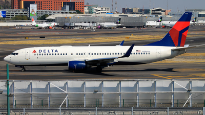 A picture of N386DA - Boeing 737832 - Delta Air Lines - © JFrag