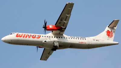 PK-WFS - ATR 72-212A(500) - Wings Air
