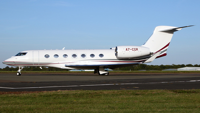 A7-CGR - Gulfstream G500 - Qatar Executive