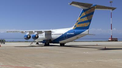 EX-27003 - British Aerospace Avro RJ85 - TezJet Air Company