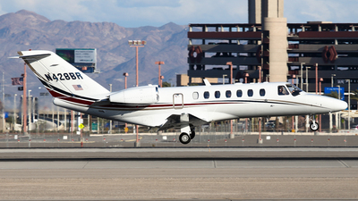 N428BR - Cessna 525B CitationJet 3 - Private