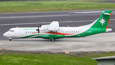 A picture of B17013 - ATR 72600 - UNI Air - © Ching Ho