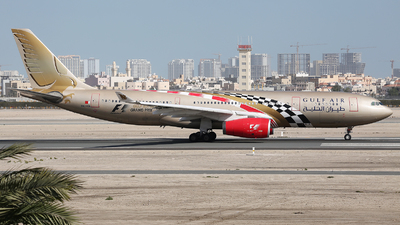 A picture of A9CKB - Airbus A330243 - [0281] - © Dave Jefferys