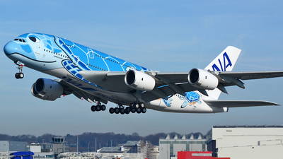 F-WWSH - Airbus A380-841 - All Nippon Airways (ANA)