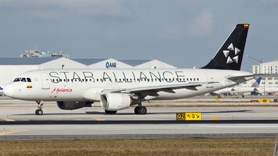 N536AV - Airbus A320-214 - Avianca