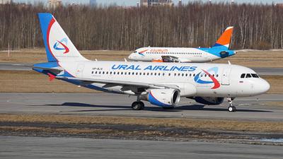 VP-BJV - Airbus A319-112 - Ural Airlines