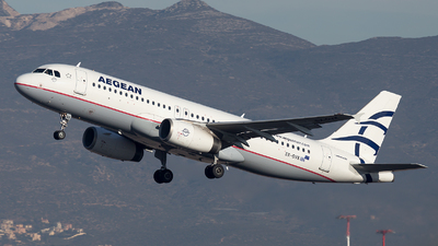 A picture of SXDVK - Airbus A320232 - Aegean Airlines - © Oksana