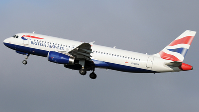 G-EUUH - Airbus A320-232 - British Airways