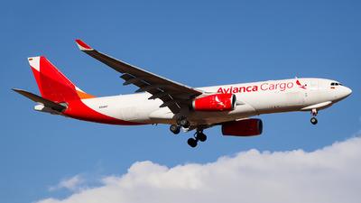 N334QT - Airbus A330-243F - Avianca