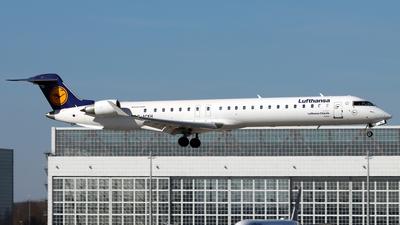 A picture of DACKH - Mitsubishi CRJ900LR - Lufthansa - © Eddie Heisterkamp