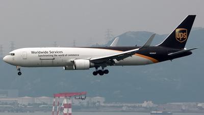 N338UP - Boeing 767-34AF(ER) - United Parcel Service (UPS)