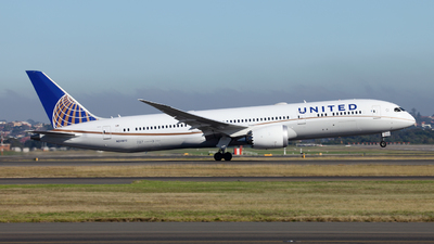 N24972 - Boeing 787-9 Dreamliner - United Airlines