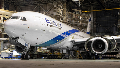 A picture of 4XECB - Boeing 777258(ER) - El Al - © Ido Wachtel - AirTeamImages