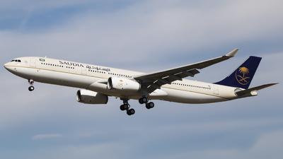 F-WWCT - Airbus A330-343 - Saudi Arabian Airlines