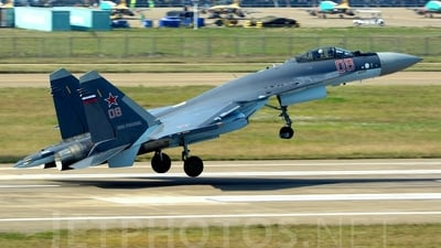 08 - Sukhoi Su-35S - Russia - Air Force