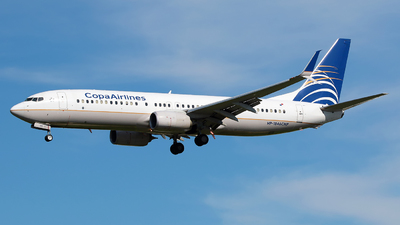 A picture of HP1846CMP - Boeing 7378V3 - Copa Airlines - © Angel Natal
