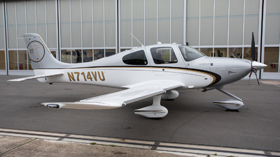 N714VU - Cirrus SR22T-GTS G5 - Private