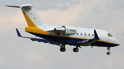 C-GGWH - Bombardier CL-600-2B16 Challenger 601-3R - Sunwest Aviation
