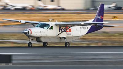 N716FX - Cessna 208B Cargomaster - FedEx Feeder (Corporate Air)