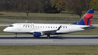 N872RW - Embraer 170-100SE - Delta Connection (Republic Airlines)