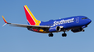 N963WN - Boeing 737-7H4 - Southwest Airlines