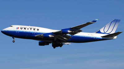N120UA - Boeing 747-422 - United Airlines