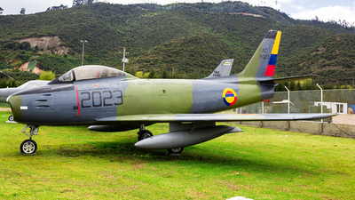 FAC2023 - Canadair CL-13B-6 Sabre - Colombia - Air Force
