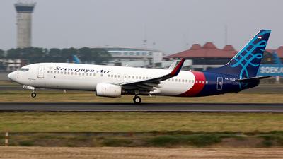 PK-CLQ - Boeing 737-81Q - Sriwijaya Air