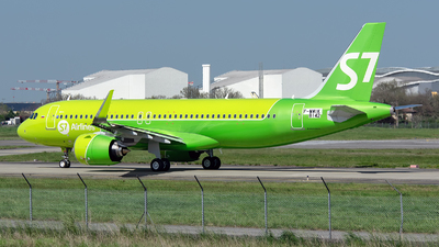 F-WWIK - Airbus A320-271N - S7 Airlines