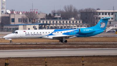 A picture of JU1800 - Embraer ERJ145LR - Aero Mongolia - © MBY