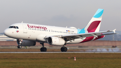 A picture of DAGWF - Airbus A319132 - Eurowings - © Jasmin Schnurr