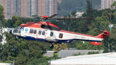 B-7192 - Eurocopter EC 225LP Super Puma II+ - China Offshore Helicopter Service Corporation (COHC)