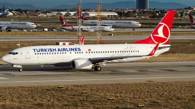 TC-JHF - Boeing 737-8F2 - Turkish Airlines