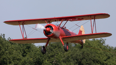 F-HDVD - Boeing A75N1 Stearman - Private