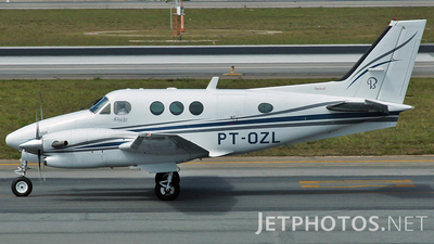 PT-OZL - Beechcraft C90B King Air - Private