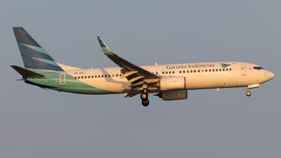 PK-GFU - Boeing 737-86N - Garuda Indonesia