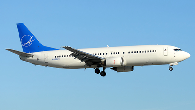 N458UW - Boeing 737-4B7 - iAero Airways (Swift Air)
