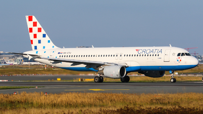 A picture of 9ACTJ - Airbus A320214 - Croatia Airlines - © Johannes Wirl