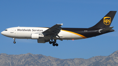 A picture of N137UP - Airbus A300F4622R - UPS Airlines - © Jason Whitebird