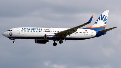 A picture of TCSON - Boeing 73786J - SunExpress - © Javier Rodriguez - Amics de Son Sant Joan