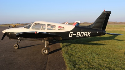 A picture of GBORK - Piper PA28161 - [288116095] - © David Cook