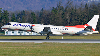 HB-IZJ - Saab 2000 - Adria Airways Switzerland