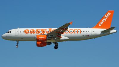 HB-JZY - Airbus A320-214 - easyJet Switzerland