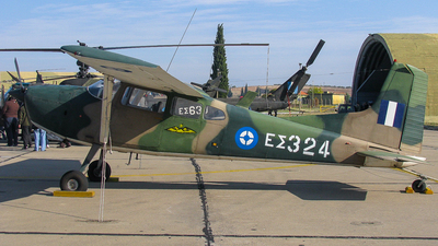 ES324 - Cessna U-17 - Greece - Army
