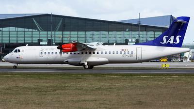 OY-JZD - ATR 72-212A(600) - Scandinavian Airlines (Jettime)