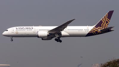VT-TSD - Boeing 787-9 Dreamliner - Vistara