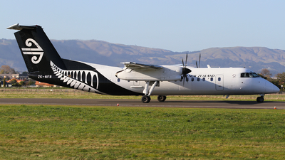 A picture of ZKNFB - De Havilland Canada Dash 8300 - Air New Zealand - © J. Williams