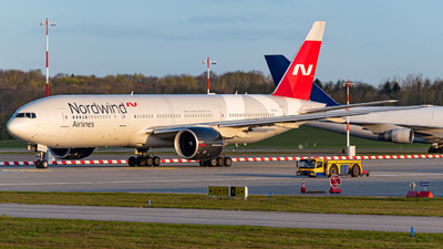 A picture of VPBJJ - Boeing 7772Q8(ER) - Nordwind Airlines - © Niclas Rebbelmund
